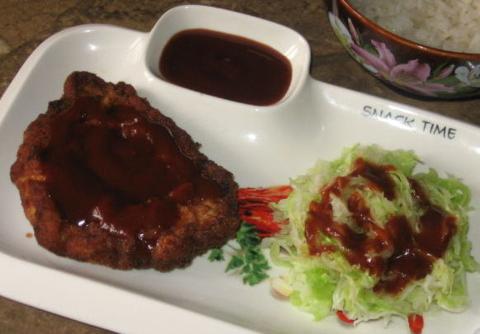 Рецепт отбивной по-японски Тонкацу