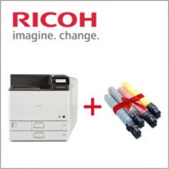 Принтеры Ricoh SP C830DN и SP C831DN + комплект тонеров по акции