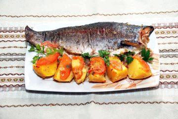 Рецепт форели в духовке