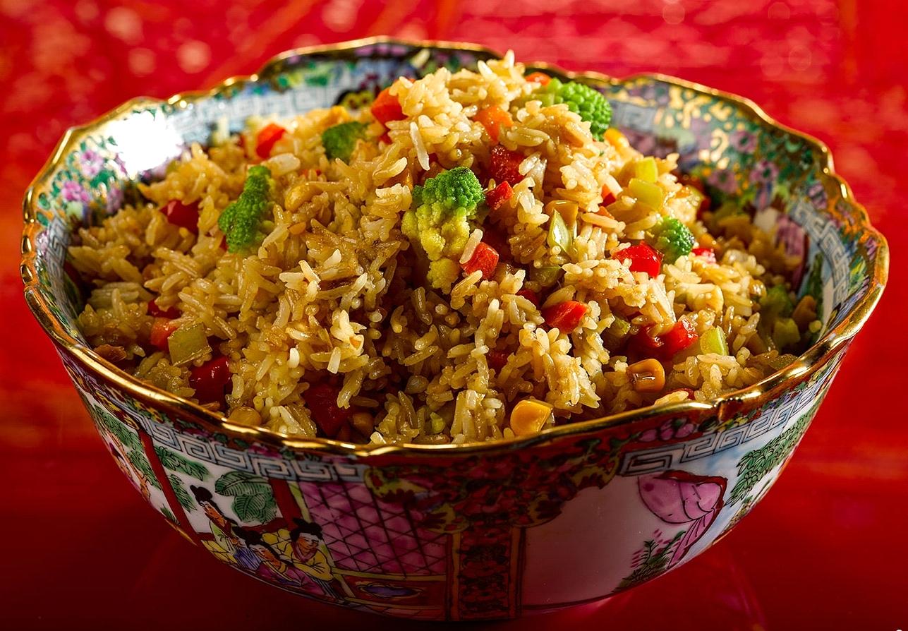 Рецепт риса с овощами