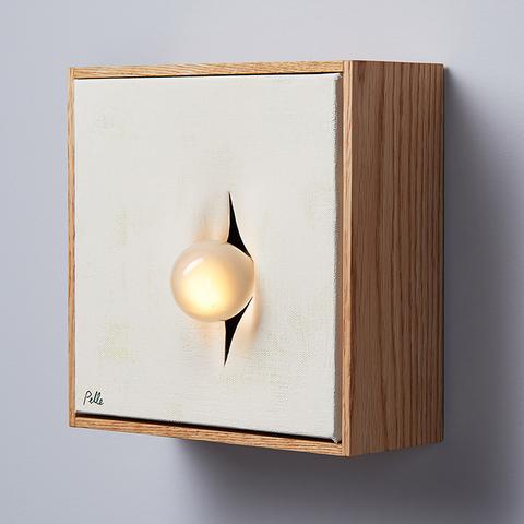 Элемент искусства в светильниках-картинах Incise от Pelle