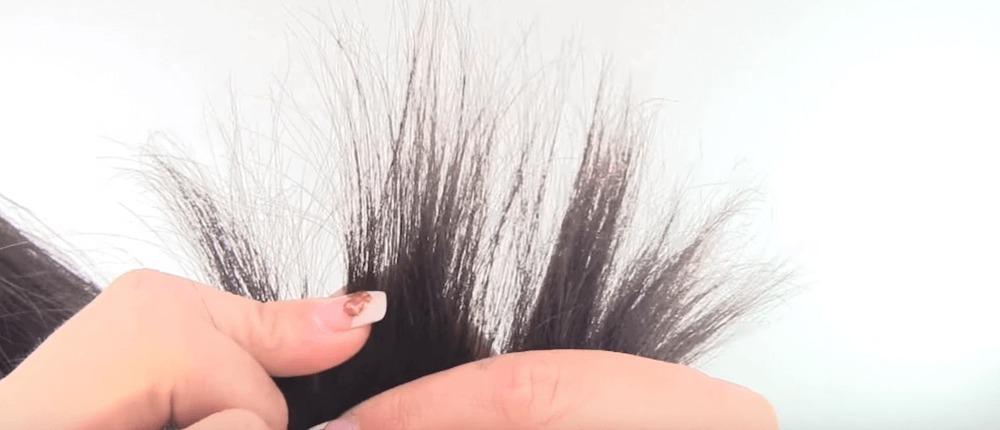 Как подстричь секущиеся кончики в домашних условиях.