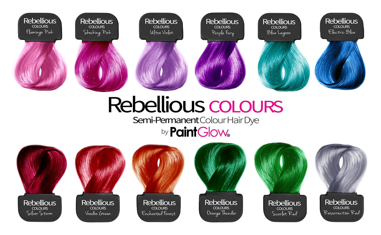 Інструкція по фарбуванню Rebellious від Paint Glow