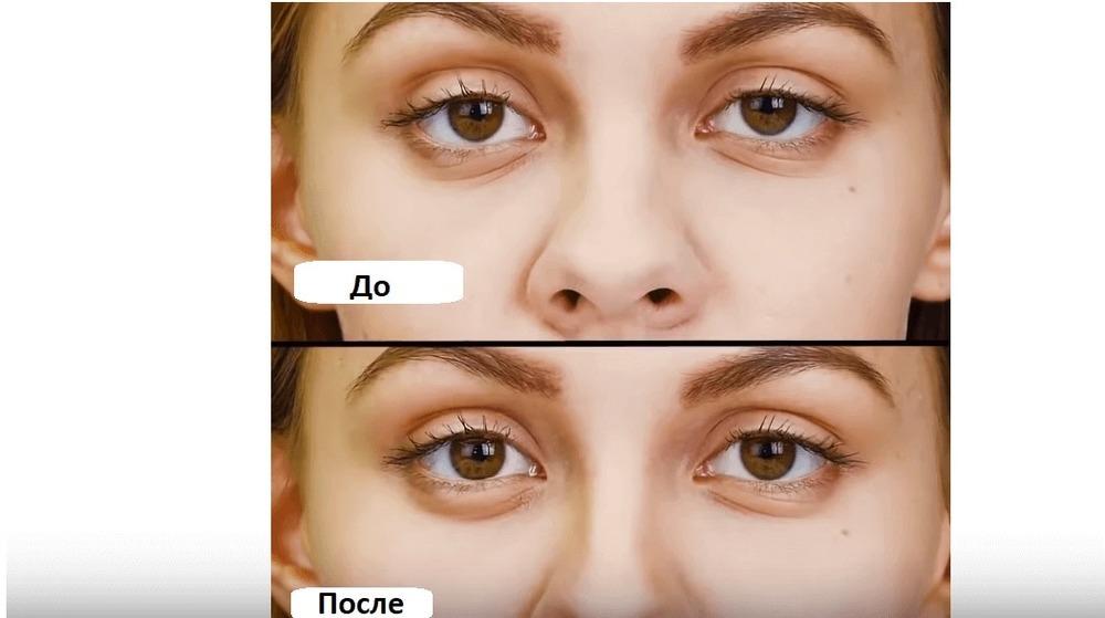 Как визуально сузить нос с помощью макияжа за 1 минуту. Простой способ.