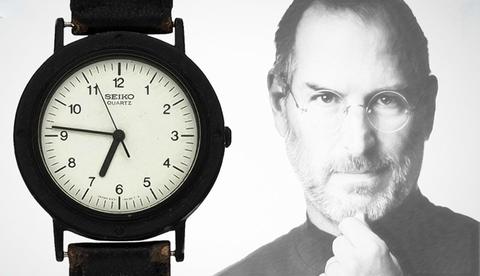 Любимые часы Seiko Стивена Джобса проданы на аукционе за 42500$.