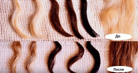 Как покрасить волосы в темный цвет без химии. Рецепт.