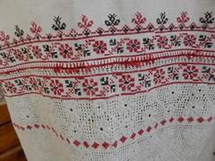 Традиционная вышивка русской рубахи — схемы