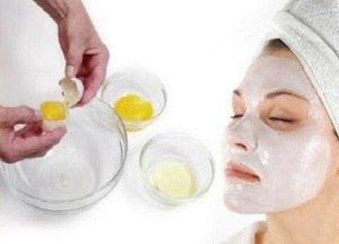 Белковые маски для лица