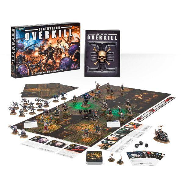 Новая настольная игра Deathwatch Overkill уже доступна для предварительного заказа!