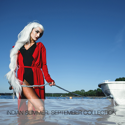 Indian summer: september collection.