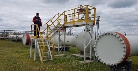На территории Калмыкии и Ставропольского края специалисты провели внутритрубную диагностику нефтепровода Тенгиз-Новороссийск