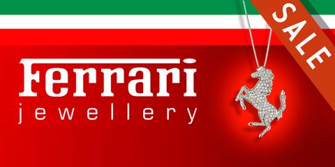 Распродажа украшений Ferrari