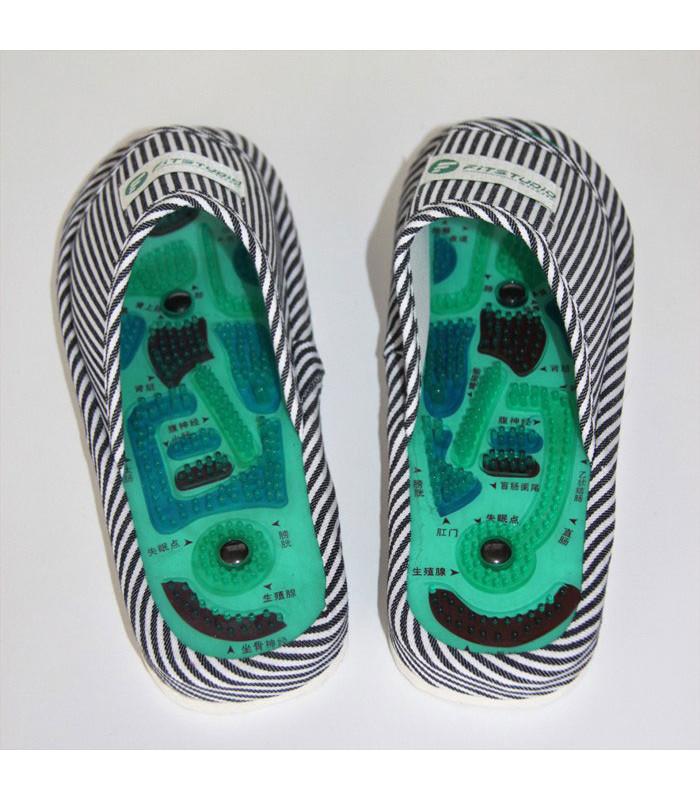 Рефлекторные массажные тапочки для ног!