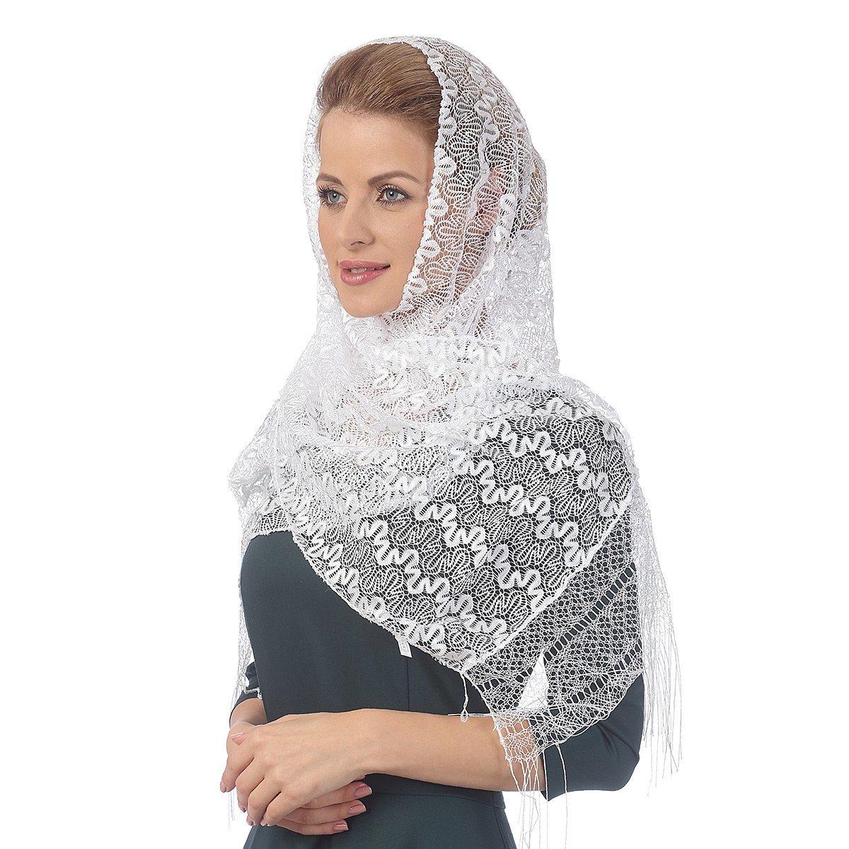 Белый платок - платок цвета радости!