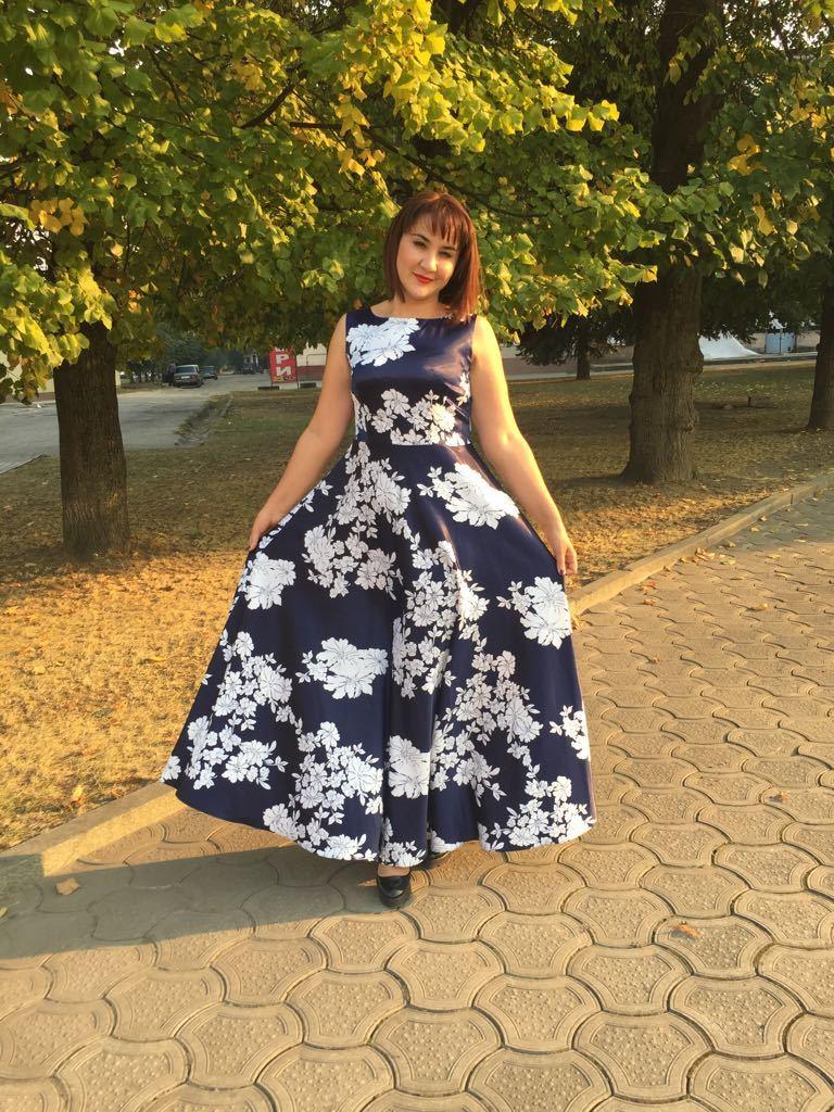 Отзыв о платье 5542