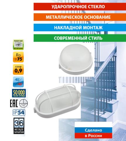 Новые модели влагозищищенных светильников - банников