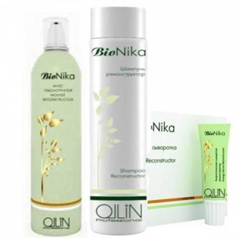 Бионизация волос с OLLIN BIONKA RECONSTRUCTOR