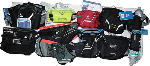 Обзор поясных сумок для бега