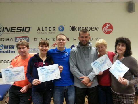 Поздравляем участников семинара KT3 7-8.11.2014 с получением сертификатов!