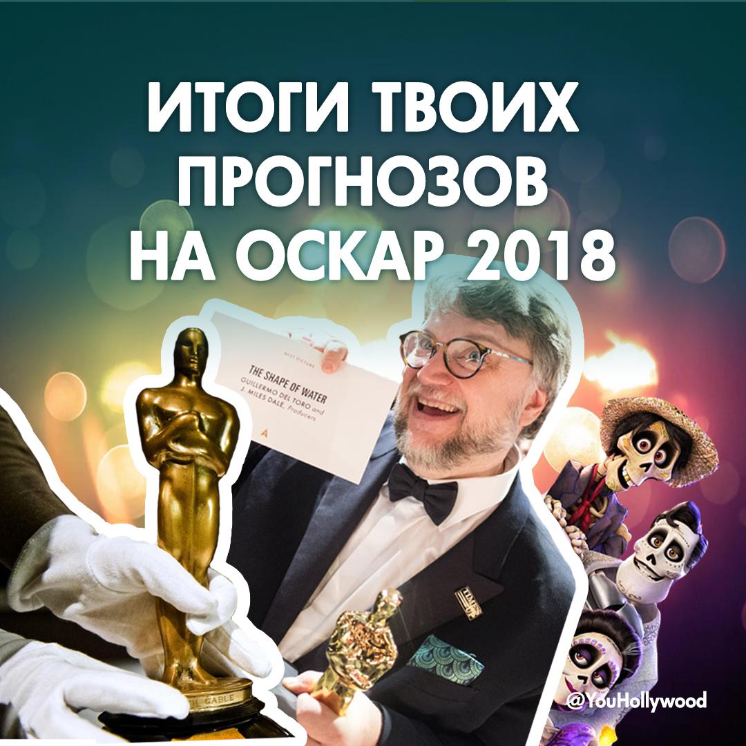 ИТОГИ ТВОИХ ПРОГНОЗОВ НА ОСКАР 2018!