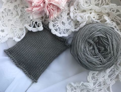 Слонимская пряжа: расход и плотность вязания.
