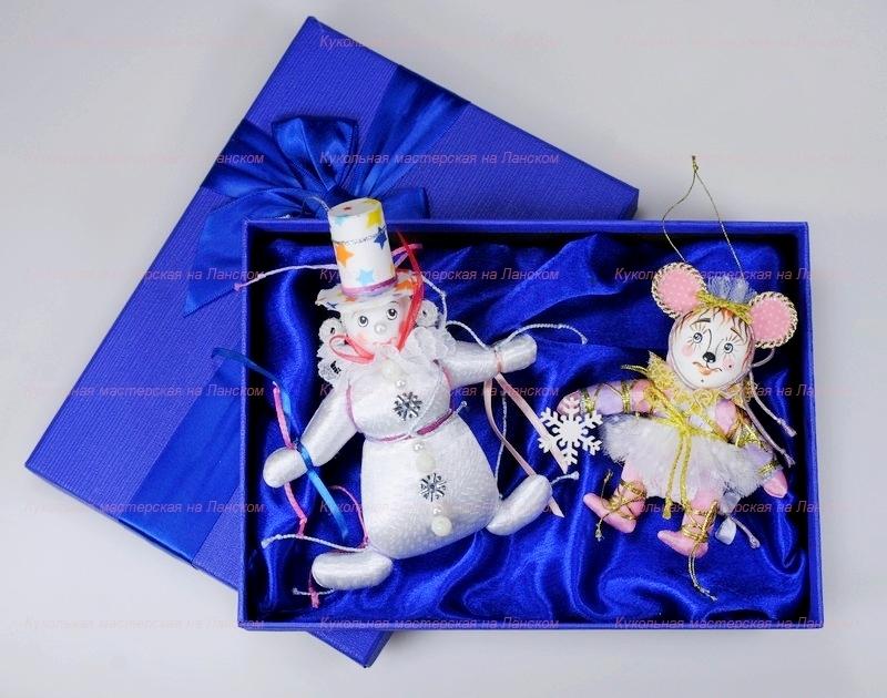 Новые наборы елочных игрушек