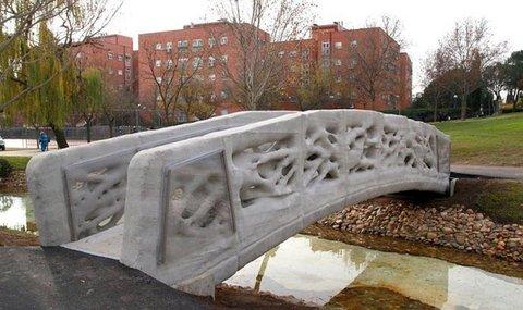 3D-напечатанный пешеходный мост