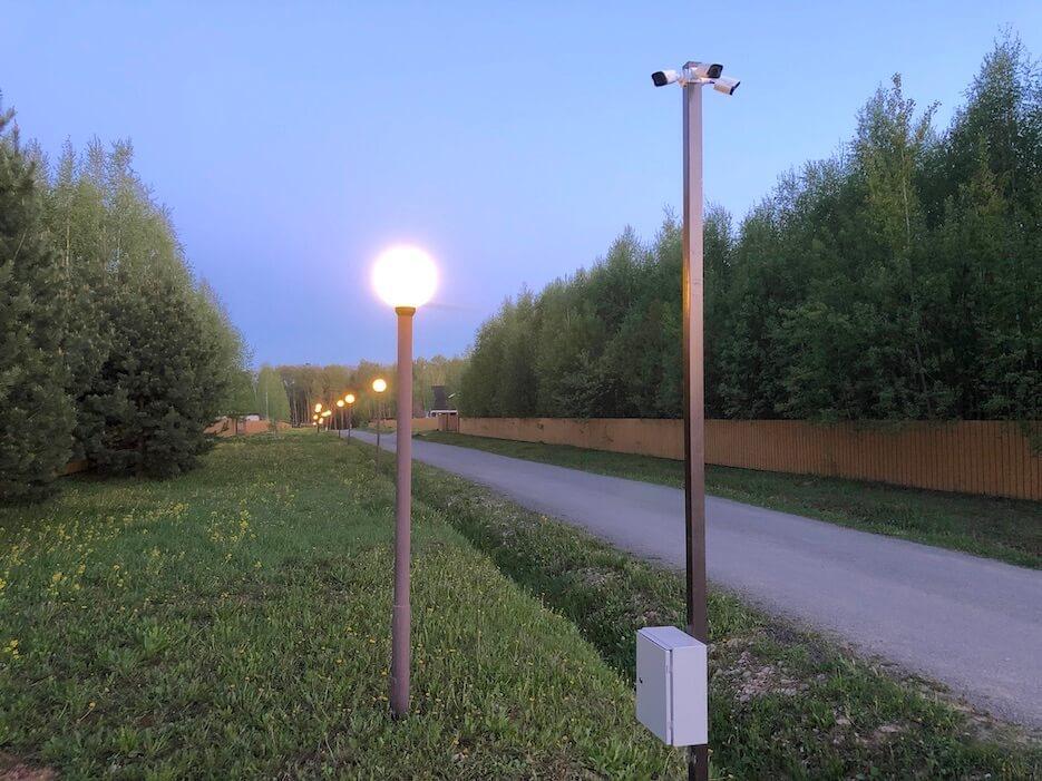 Система видеонаблюдения в «Романовском Парке» продолжает расширяться