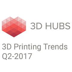 Отчет о тенденциях настольной 3D–печати за 2-й квартал 2017 года