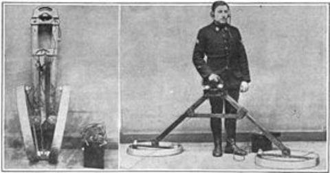 История металлоискателя