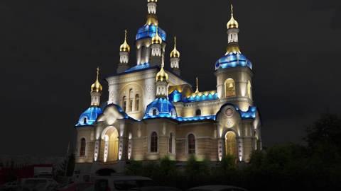 Освещение, наружная подсветка храмов, церквей