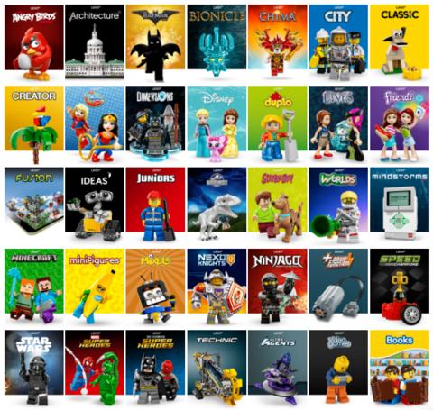 Распродажа Lego