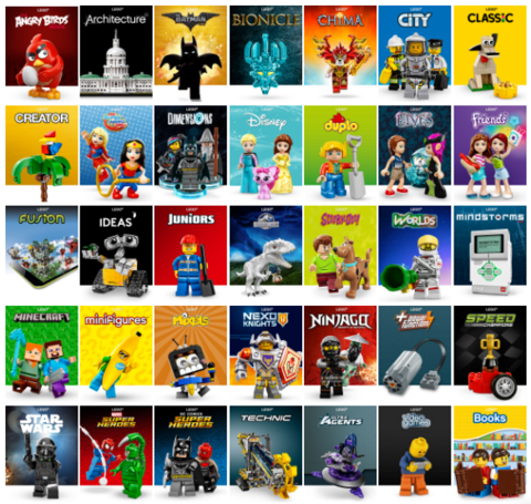 Распродажа Lego до 31.01.17