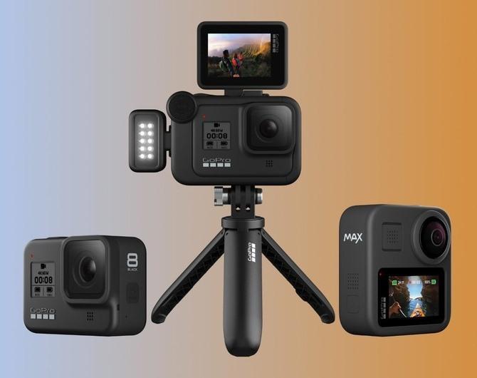 Сравнение актуальных моделей GoPro 2019 года