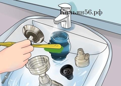 Как мыть и ухаживать за кальяном?
