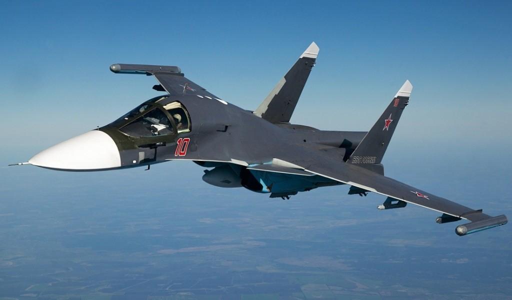 Су-34 по новейшим технологиям