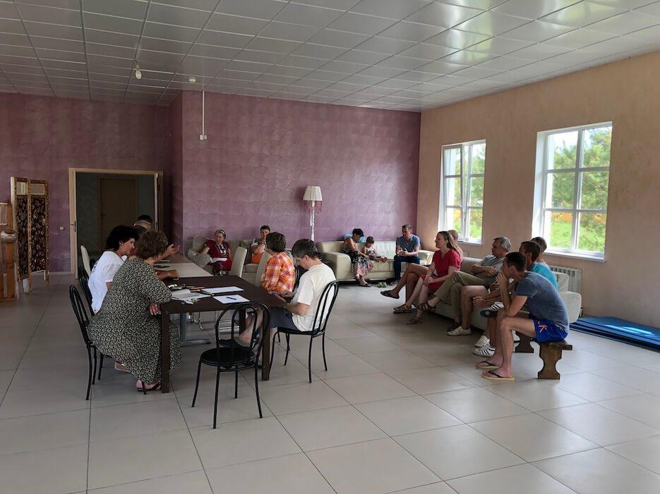 Жителям «Романовского Парка» представили предложение по асфальтировке дороги