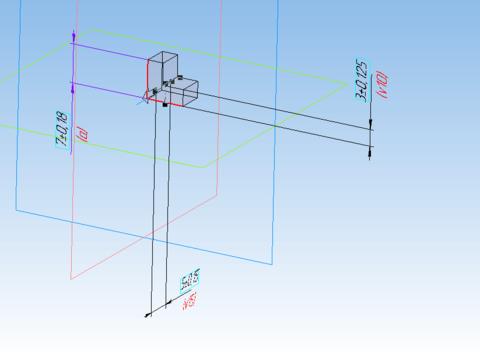 КОМПАС-3D Home для чайников. Основы 3D-проектирования. Часть 8. Создание шаблона для измерения радиусов скруглений