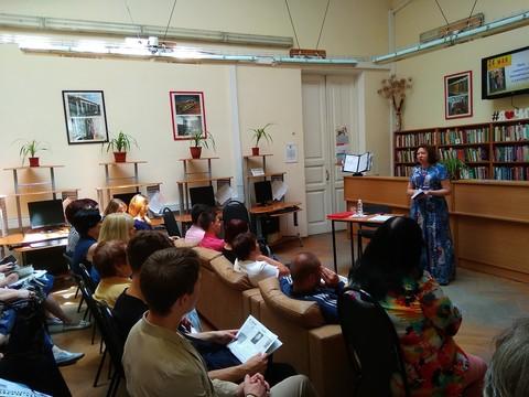 Открытая лекция Т.В. Глазковой в рамках XIII Чеховского книжного фестиваля