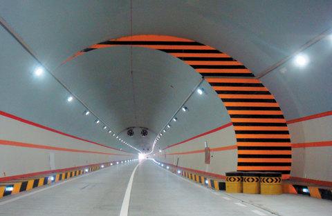 Освещение туннелей. Как проектируется освещение, как освещается туннель