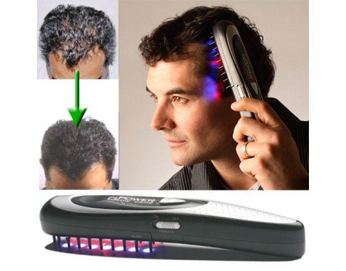 Лазерная расческа Power Grow Comb от выпадения волос!