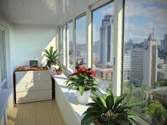 Выход на балкон: виды и особенности остекления