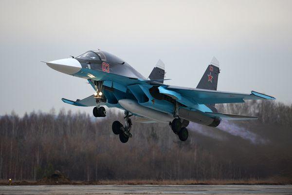 Су-34 дооснастят контейнерами разведки