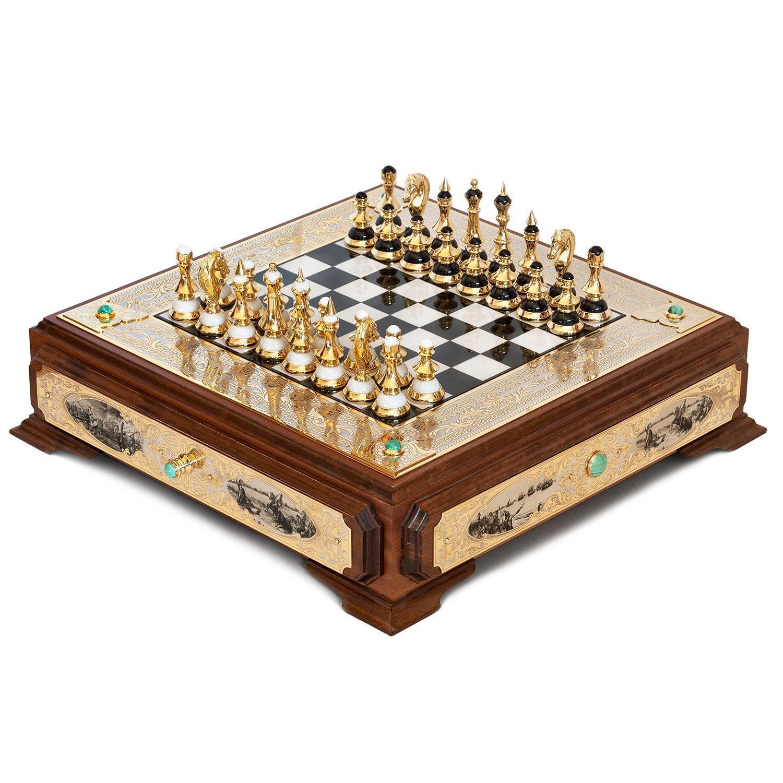 Обновление коллекции шахмат из камня
