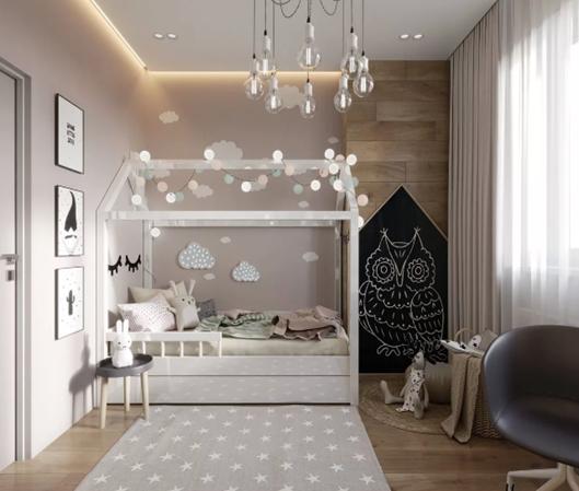 Дизайн и обустройство детской комнаты