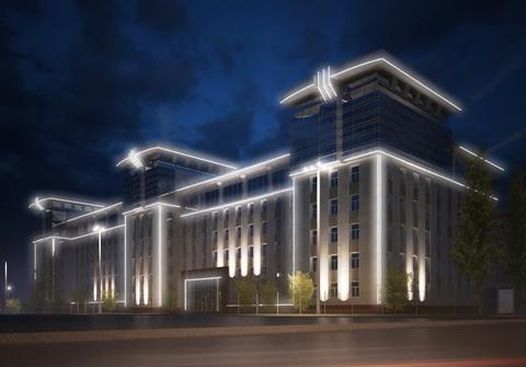 Контурная подсветка зданий и сооружений