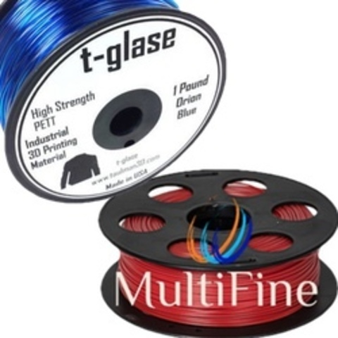 Филамент Taulman и бюджетный 3Д пластик MultiFine