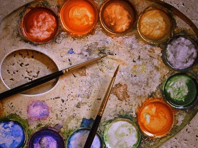Кисти для живописи. Назначение, материал волосяного пучка