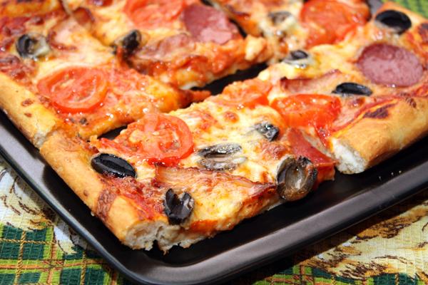 Как приготовить пиццу