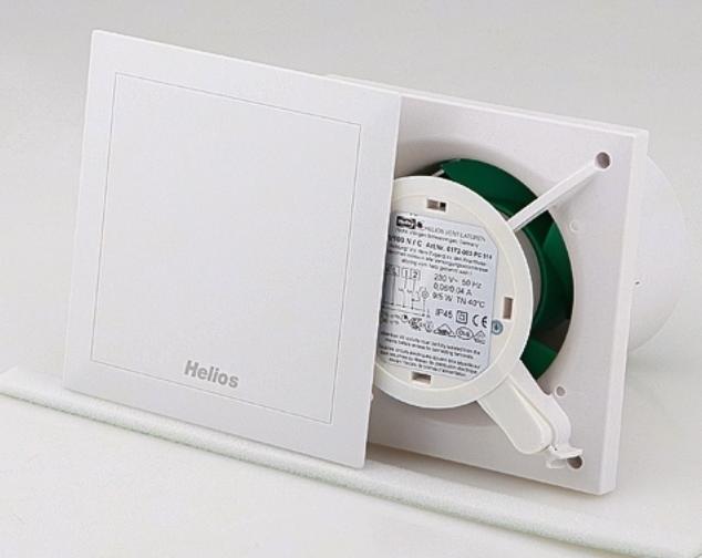 Подключение вентилятора Helios с датчиком влажности